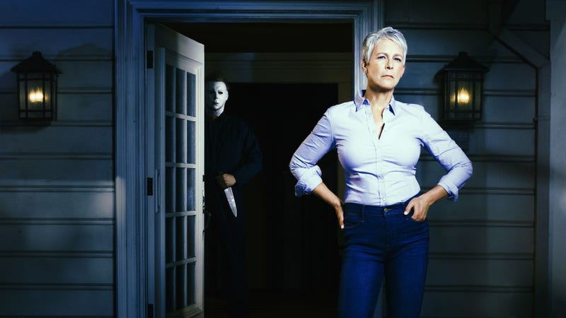 Headed back to Haddonfield: Jamie Lee Curtis signs for final Halloween chapter