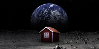 Illustration for article titled One Man's Crazy Quest To Build a Tiny House on the Moon