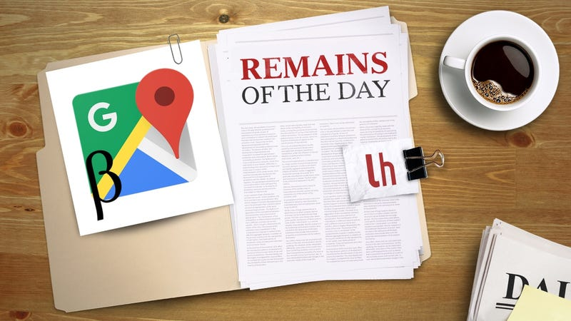 Illustration for article titled Remains of the Day: Google Maps for Android Now Has a Beta Channel