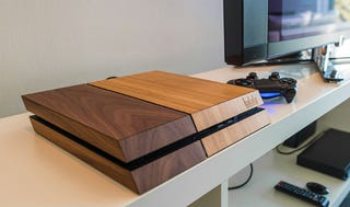 Illustration for article titled Consoles Are A Lot Prettier When They're Made With Wood