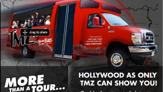 Illustration for article titled A Ride On The TMZ Hollywood Bus Tour