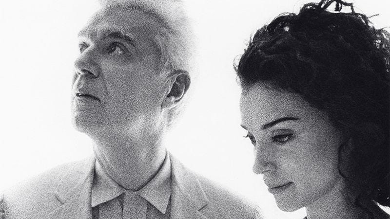 Illustration for article titled David Byrne & St. Vincent:Love This Giant