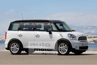 Illustration for article titled A Mini Minivan?!