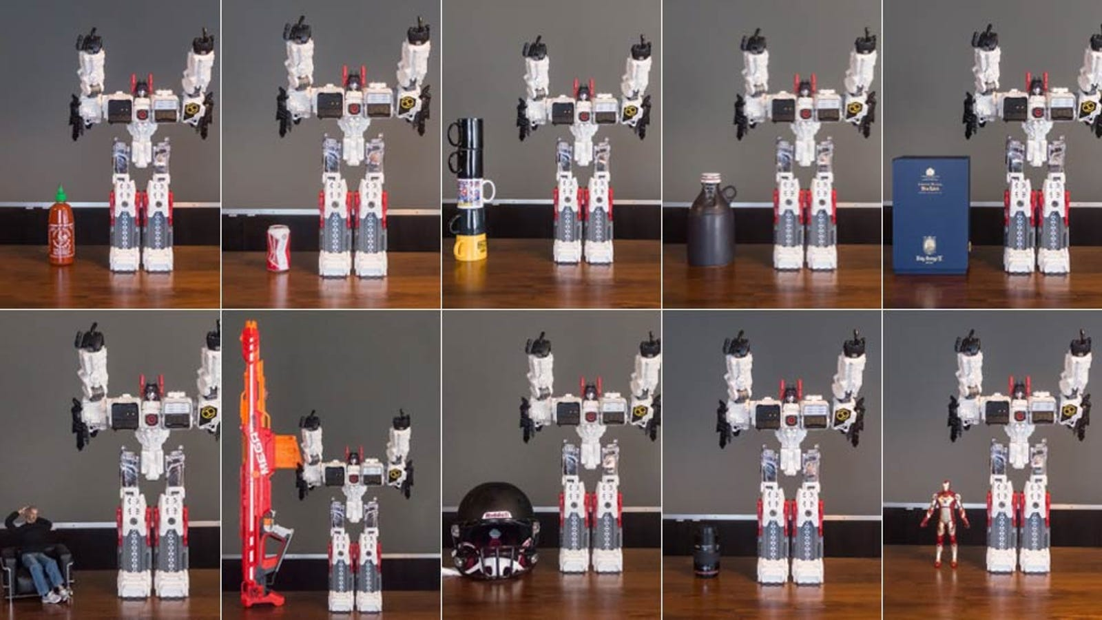 The Biggest Transformer Ever Standing Next To Stuff