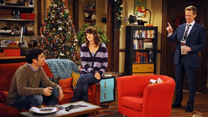 How I Met Your Mother Christmas.How I Met Your Mother False Positive
