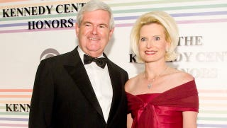 Illustration for article titled Newt Gingrich Hopes His Wife Will Win Him The Presidency