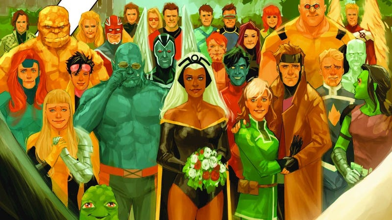 The cover of X-Men: Gold #30.