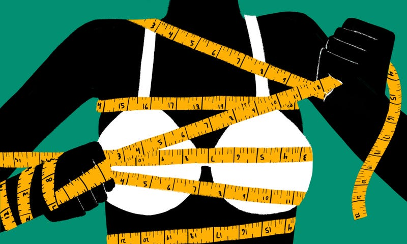 50d4e7498b9 Illustration for article titled Your Bra Size Is a Myth