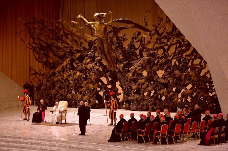 Αποτέλεσμα εικόνας για pope's audience hall