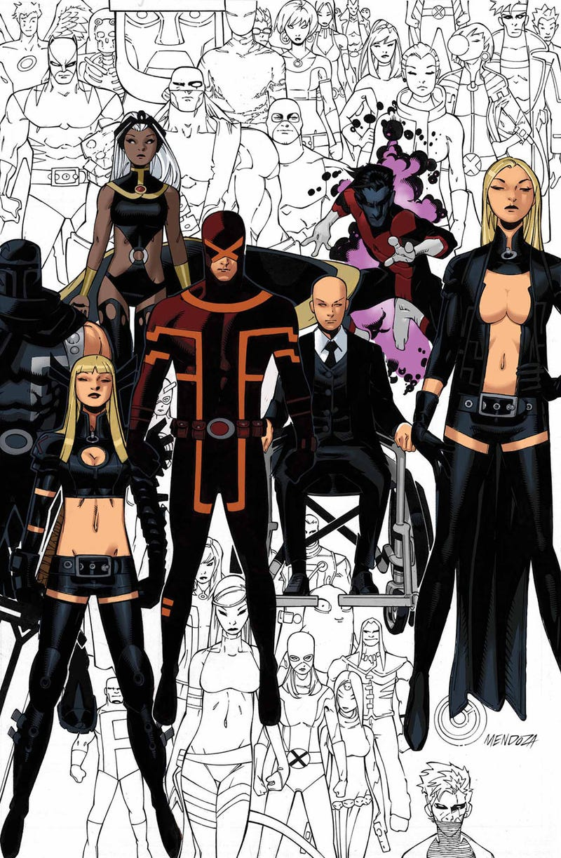 Illustration for article titled Hints for the fate of the X-Men in a Post Secret Wars Marvel Universe