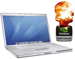 Illustration for article titled Apple Confirms Failing Nvidia Graphics Cards in MacBook Pros, Offers Free Repairs and Refunds