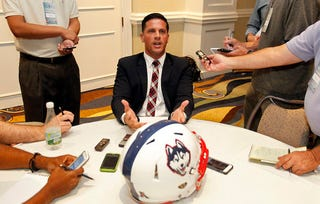 Illustration for article titled UConn's Bob Diaco Has A New Name For That Rivalry That Doesn't Exist