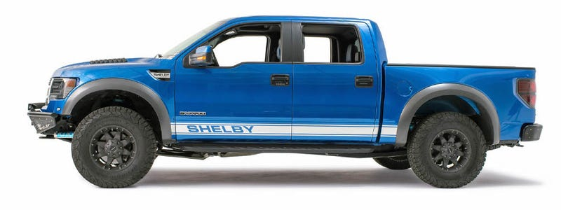 Shelby Gives The Ford Raptor 700 Horsepower And Stripes For 45000