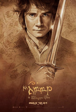 Illustration for article titled Hobbit IMAX Posters