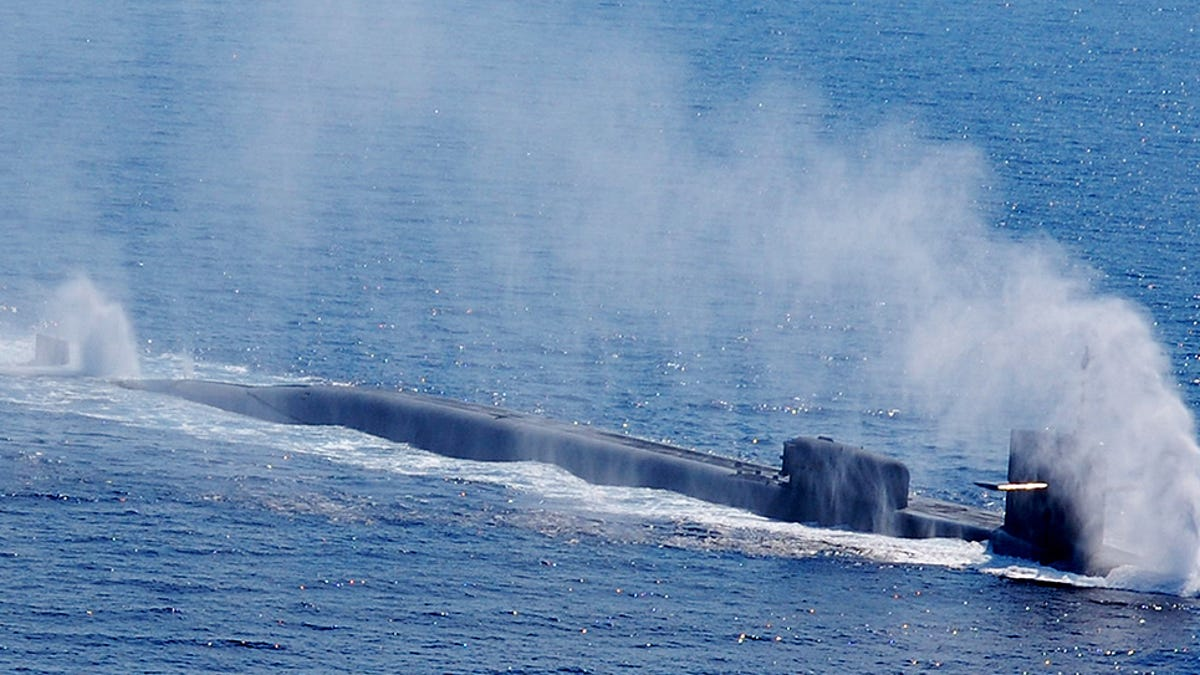 The Ohio-Class Guided Missile Nuclear Submarine Is One
