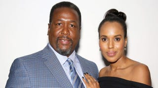 Wendell Pierce and Kerry Washington   Paul Zimmerman/Getty Images for HBO