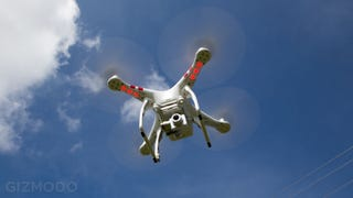 Illustration for article titled The DJI Phantom 2 Quadcopter Is Now a Real Autonomous Drone