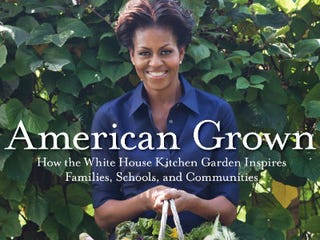 Illustration for article titled Michelle's White House Garden Book Unveiled