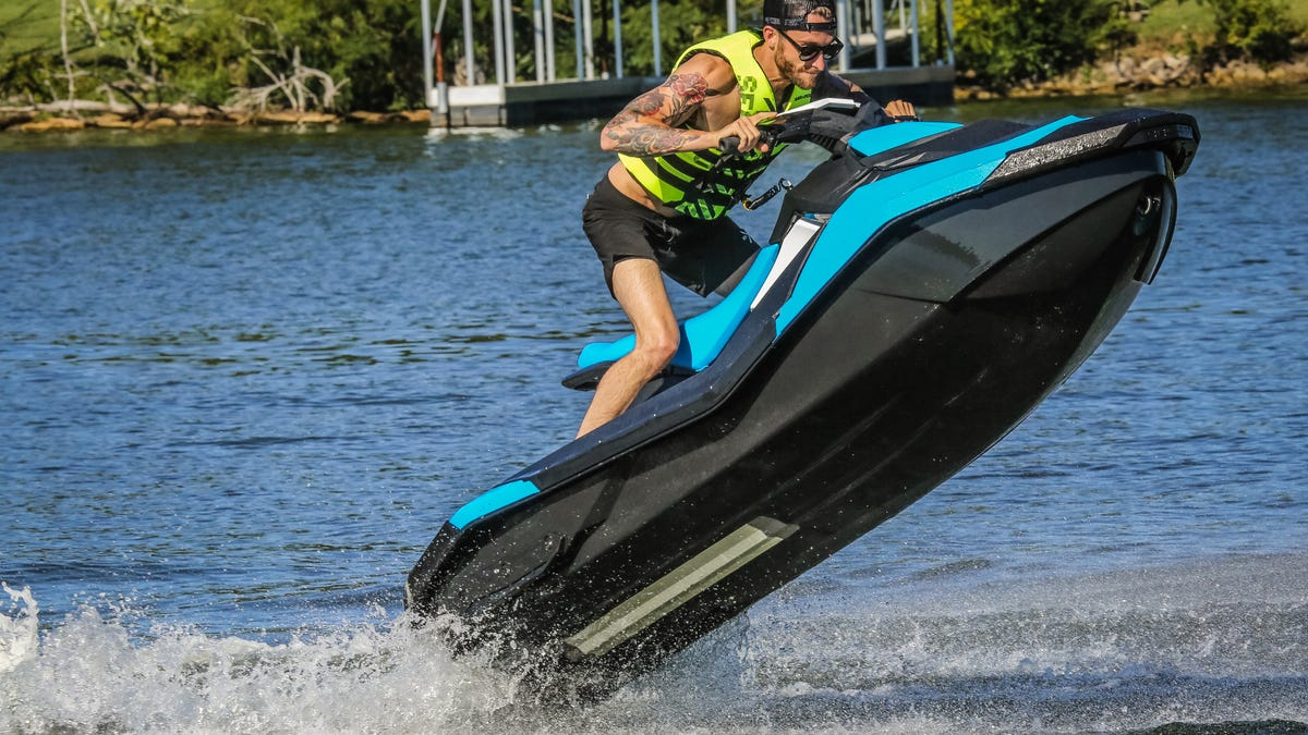 What It's Like To Pilot A Supercharged 300 HP Sea Doo With