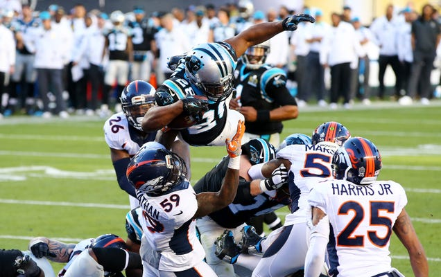 Here's Jonathan Stewart's Superman TD In High-Res
