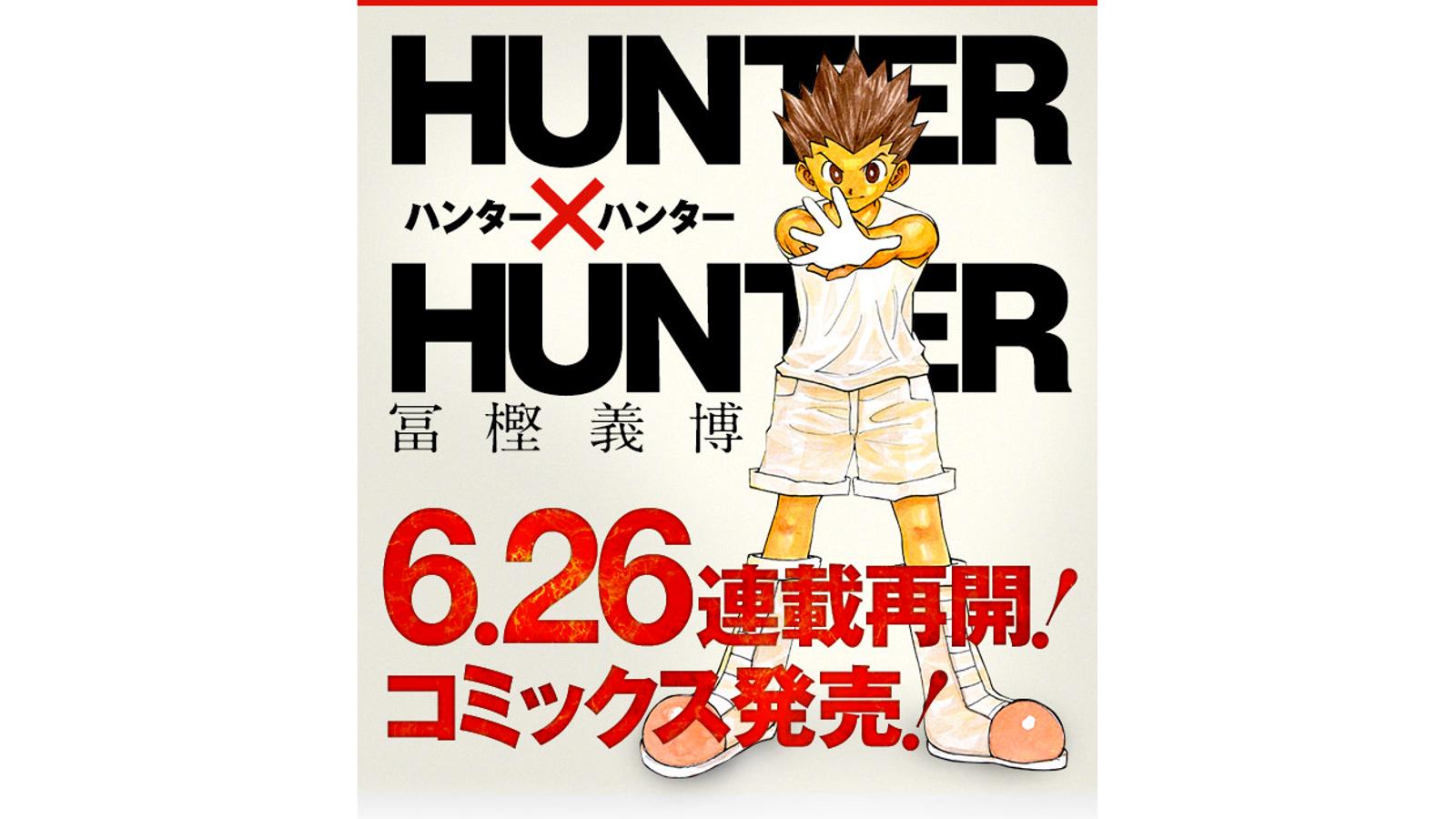 The Hunter X Hunter Manga Returns This June