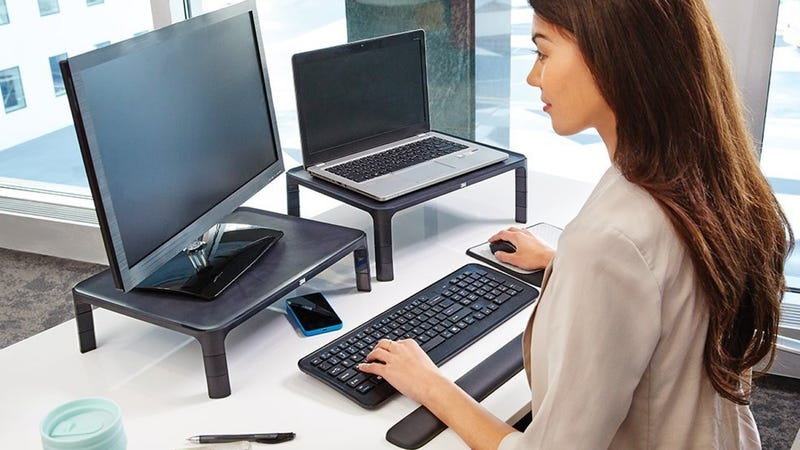 3M Adjustable Monitor Stand, $27
