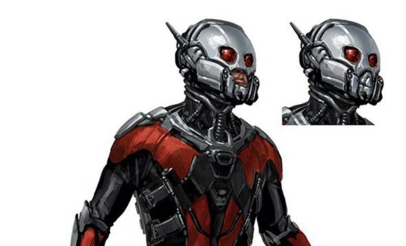 Illustration for article titled These Alternate Designs For Marvel's Ant-Man Costume Are Super Cool