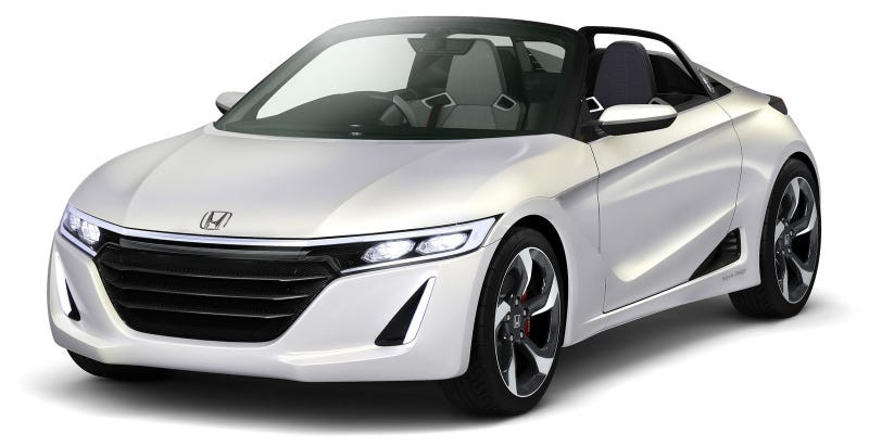 Illustration for article titled The 2015 Honda S660 Will Be A Lightweight Baby Roadster With 63 HP