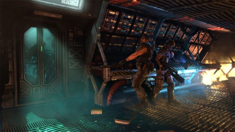Illustration for article titled Escape from Aliens: Colonial Marines at PAX Prime