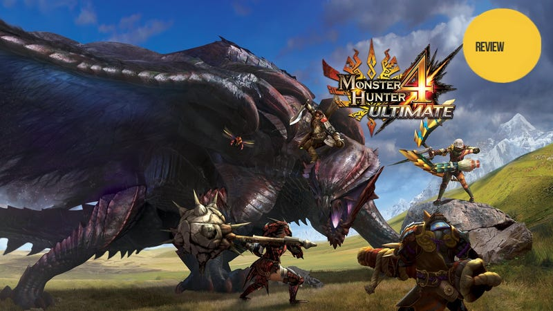 Monster hunter 4 ultimate the kotaku review monster hunter 4 ultimate has thus far been 60 hours of the adventures of me and my cat weve had some great times once my cat got stuck under the claws voltagebd Image collections