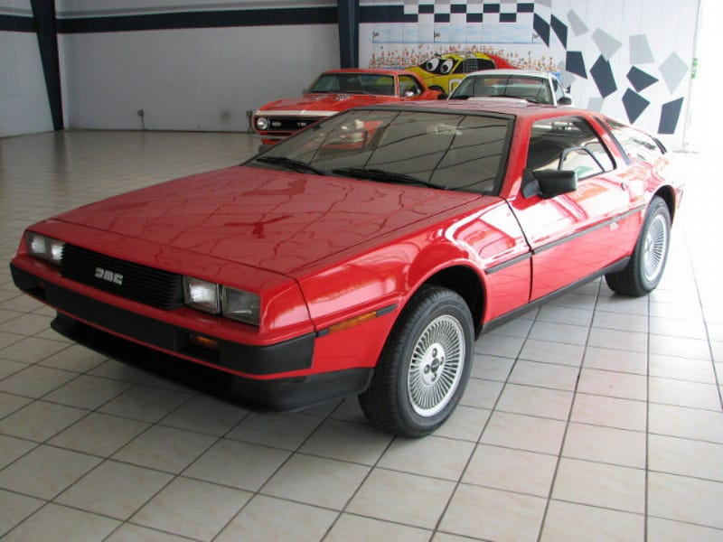 for 41 000 does this 1981 delorean dmc 12 have the luck of the irish. Black Bedroom Furniture Sets. Home Design Ideas