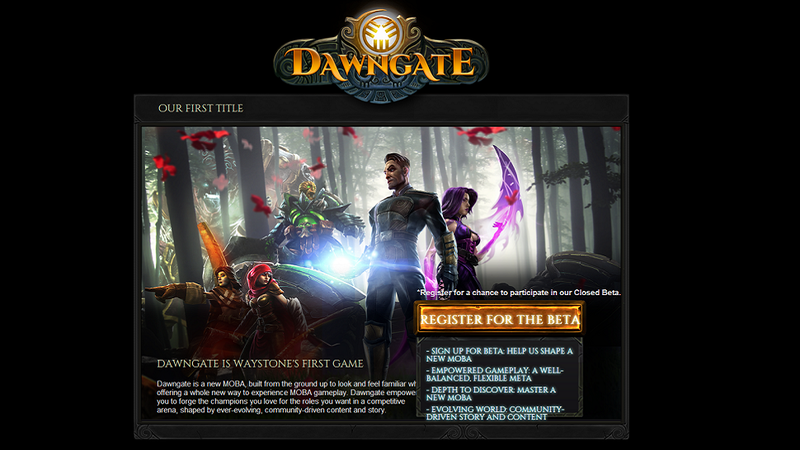 Illustration for article titled Looks Like EA Is Making A New Online Game Called Dawngate
