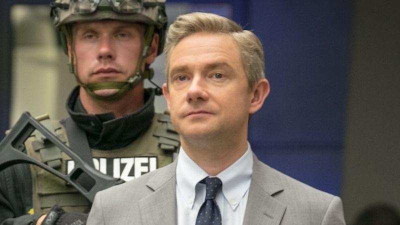 Martin Freeman as Everett K. Ross in Captain America: Civil War