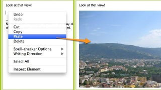 Copy and Paste Images into Gmail with Google Chrome