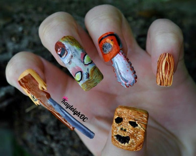 Crazy impressive nail art inspired by south park pokmon and more prinsesfo Image collections