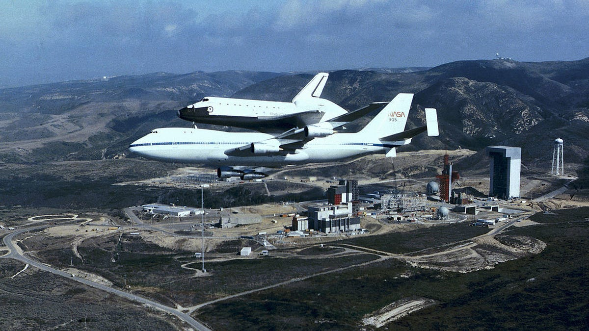 The Space Shuttle's Military Launch Complex In California