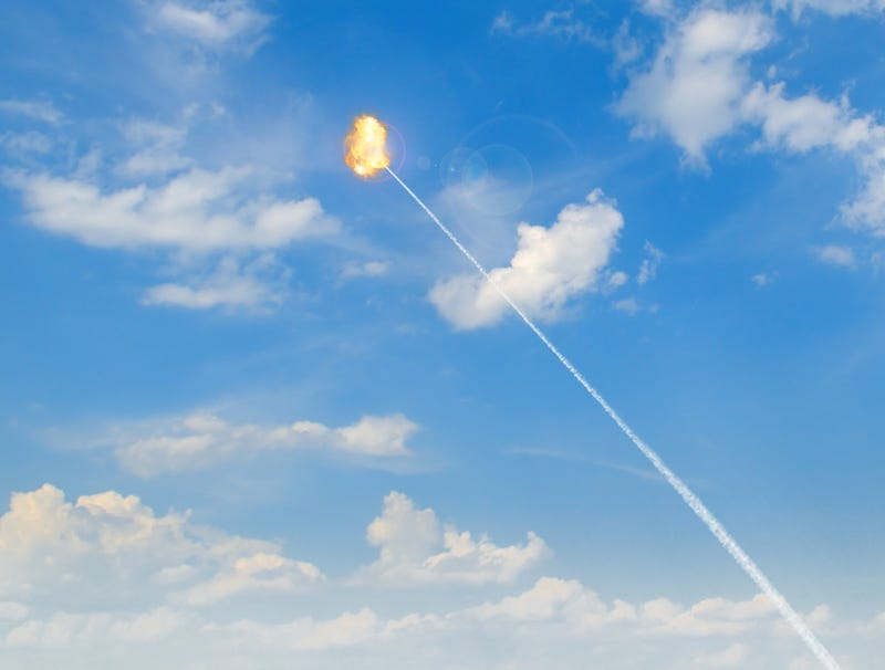 Illustration for article titled Returning Jesus Christ Downed By U.S. Missile Defense 30,000 Feet Before Making Landfall