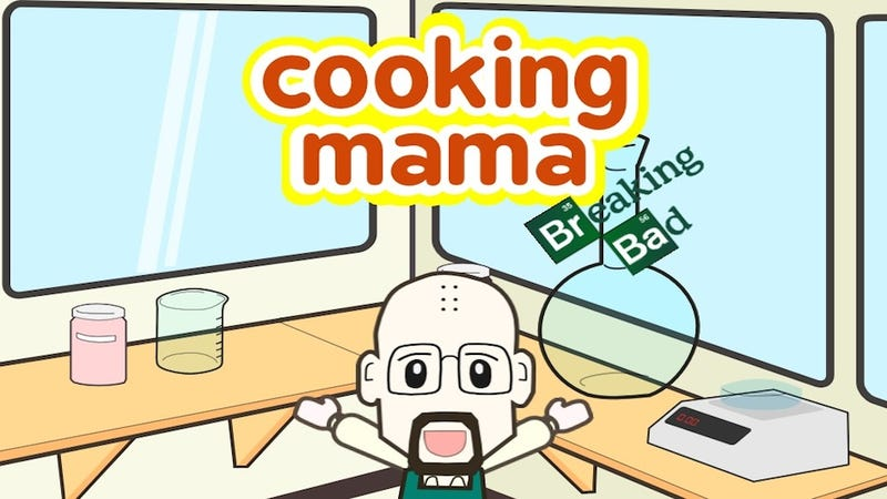 Illustration for article titled Try Your Hand At Meth-Making In Cooking Mama: Breaking Bad