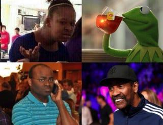 Various black memes