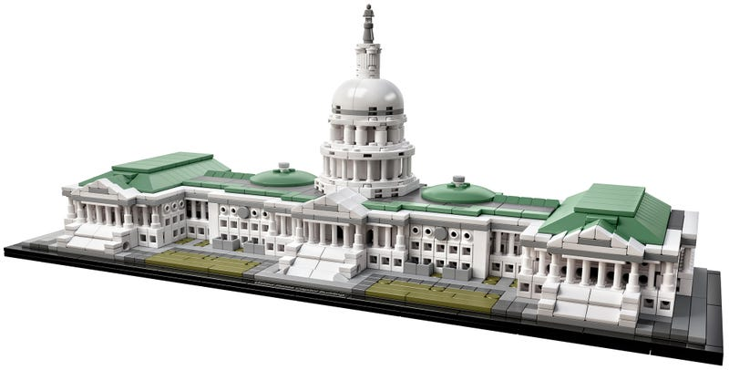 Illustration for article titled You Can Finally Build the US Capitol Out of Lego