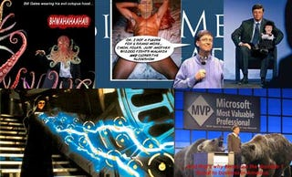 Illustration for article titled Bill Gates Unleashes 20 Horrible Things on Unwitting Victims