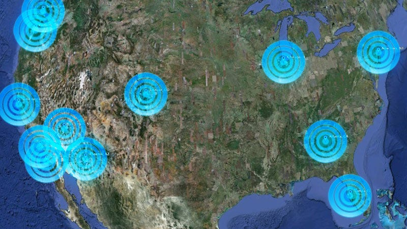 Illustration for article titled Our 2009 12-City 3G Data Mega Test: AT&T Won