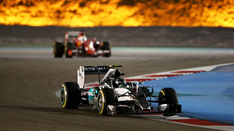 Illustration for article titled There Is No Way In Fiery Hell Iran Is Getting An F1 Race Anytime Soon
