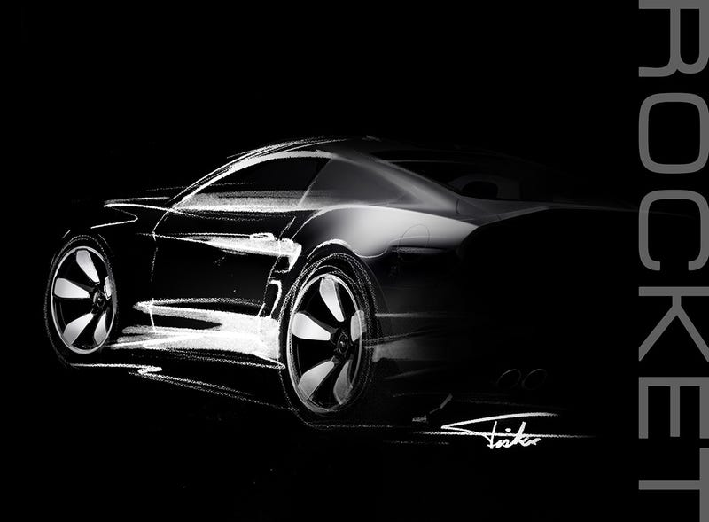 Illustration for article titled Henrik Fisker Says He's Back With The 'Ultimate American Muscle Car'