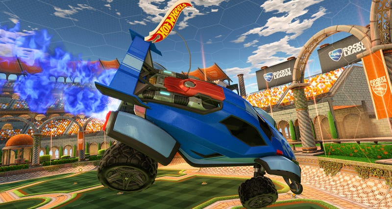Illustration for article titled Hot Wheels RC Brings Rocket League To Life This Fall