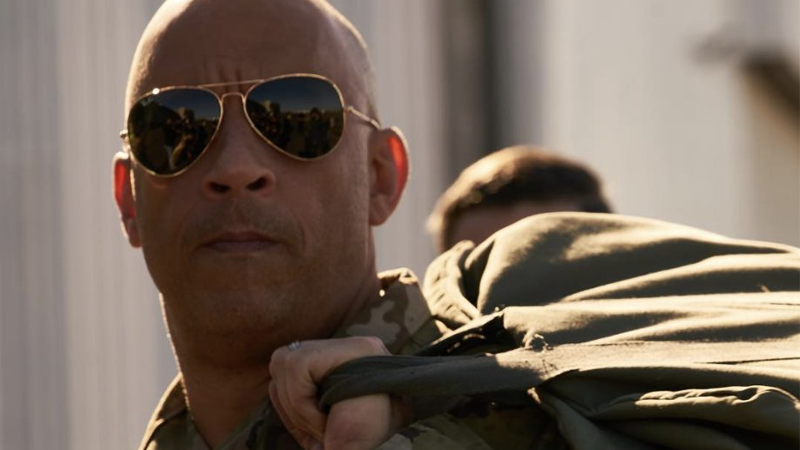 Vin Diesel, or Ray Garrison. Or...both!?