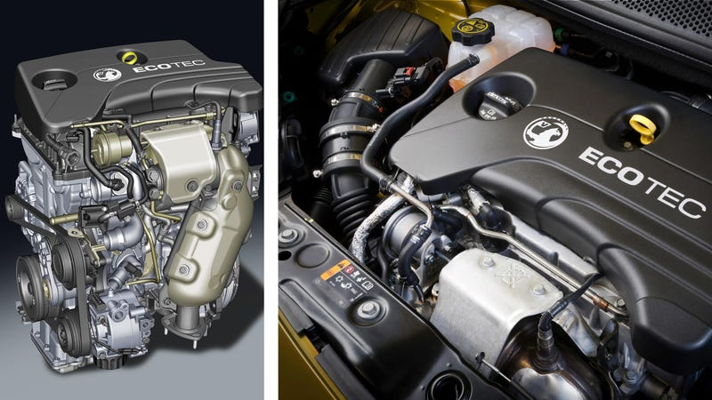 Illustration for article titled GM's New 1.0-Liter Ecotec Engine Is The Answer To Ford's Tiny Ecoboost
