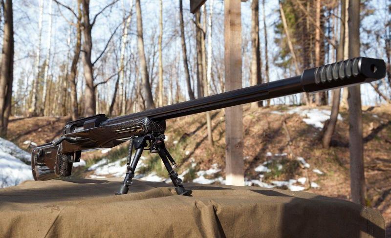 Illustration for article titled Una compañía rusa diseña un rifle de francotirador que dispara balas a velocidad Mach 5.83