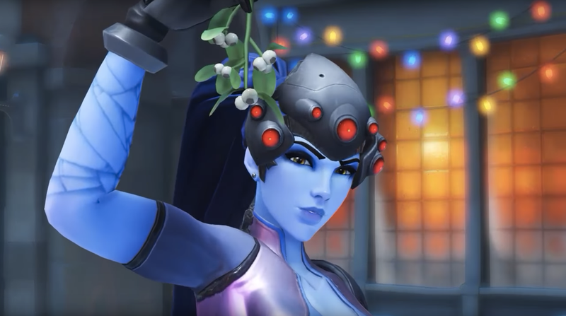 Illustration for article titled The OverwatchFandom Is Horny For Widowmaker's New Highlight Animation
