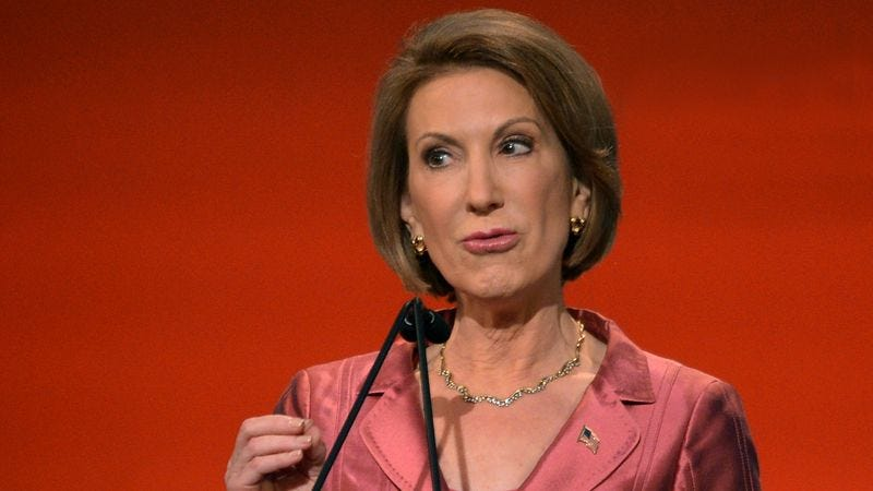Illustration for article titled Carly Fiorina Promises To Fight For Whoever Everyday Americans Are